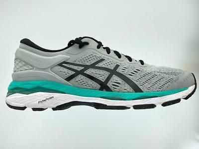 Women's Asics GEL-Kayano 24 Running Athletic Shoes  Mid Grey Black Atlantis