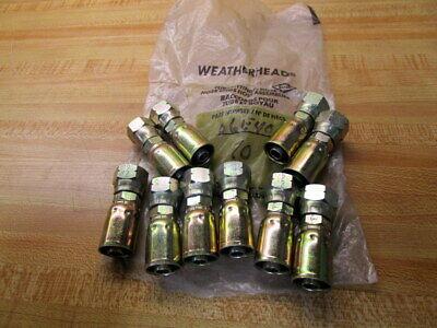Weatherhead 06e406 Swivel Hose End Pack Of 10