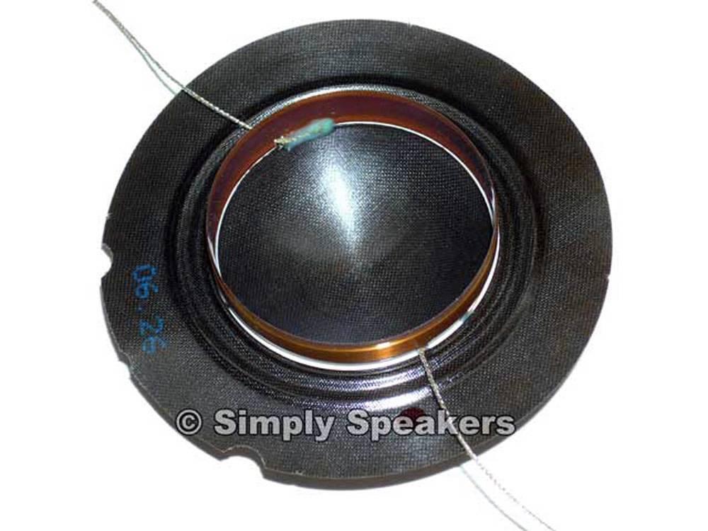 Ev Tapco 100s Factory Speaker Diaphragm Electro Voice