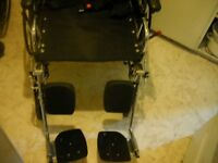 Maple Leaf Swift tilting legs  wheelchair w/ delivery small fee