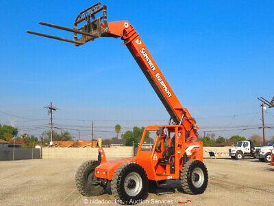 2012 Skytrak 6042 42 6000 Lbs Telescopic Reach Forklift Telehandler Bidadoo