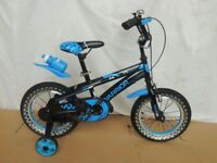 CTBIKES WARRIOR FREESTYLE BMX KIDS BIKES in White 14 Blue