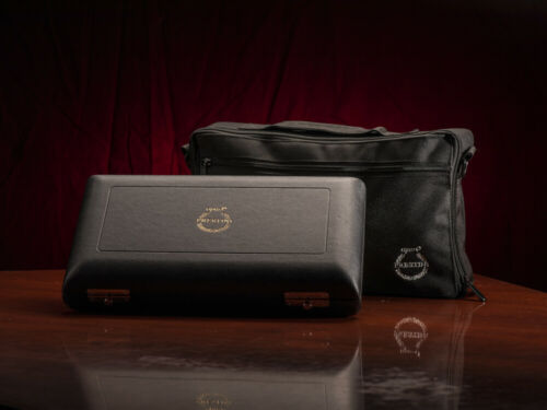 Oboe Hard Case and Protective Canvas Bag