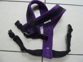 Cosy dog fleece harness - as new