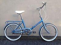 vintage folding bike needed for art exhibition