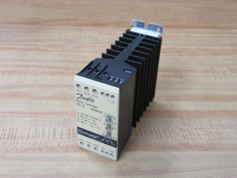 Danfoss MCI 15 Motor Controller 037N0039