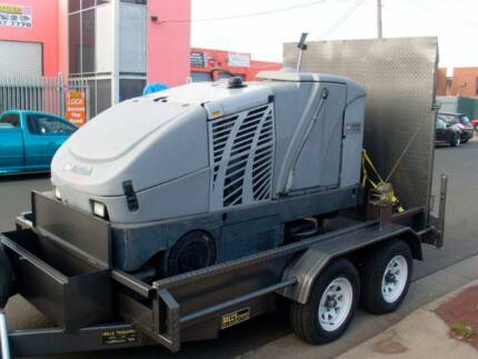 10x6 Sweeping Machine Trailer