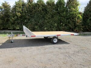 Aluminum Snowmobile Trailer - Canadian Made