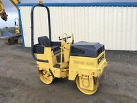 BOMAG BW80 DOUBLE DRUM RIDE ON ROLLER