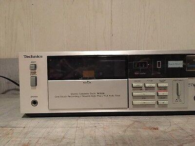 ** New Replacement 4 Belt Set ** Technics RS-M224 Dual Cassette Deck Player