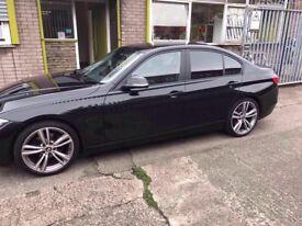 2014 14reg BMW 320d Automatic Black Sport alloys