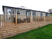 Swift Mosselle Lodge 40x13 2 bedroom 2016, just stunning sited Causey Hill Holiday Park Hexham