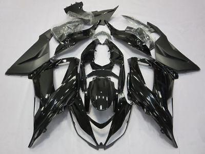 Black Fairing Kit Fit For Kawasaki Ninja ZX6R 2013-2018 ZX636 ABS Injection Body