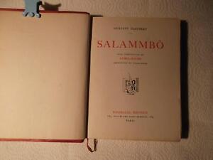 Salammbô par Gustave Flaubert 1939 $200