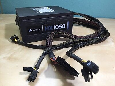 Corsair HX 1050 Watt ATX/EPS Power Supply CMPSU-1050HX