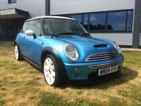 MINI HATCH COOPER S (blue) 2004