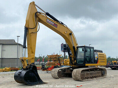 2016 Caterpillar 336fl Hydraulic Excavator Trackhoe Aux Hyd Cab Ac Bidadoo