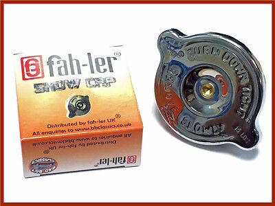 Fahler Polished Stainless Steel Radiator Rad Cap Expansion Tank Blanking Cap