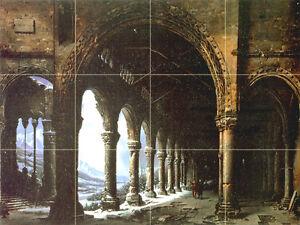 Art-Mural-Ceramic-Arch-Backsplash-Bath-Tile-233