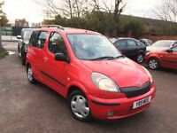 Toyota Yaris Verso automatic full mot lady owner for 12 years nationwide delivery 1195