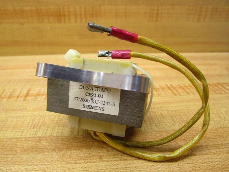 Siemens C891-01 Transformer 37/2000 KU-2243/S