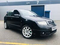 2006 Skoda Fabia 1.9 TDI vRS Hatchback 5dr - XENON LIGHTS + LEATHER SEATS + FULL SERVICE HISTORY