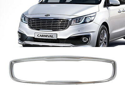Genuine OEM Front Surround Radiator Grille (Fits: KIA 2015-2018 Sedona Carnival)