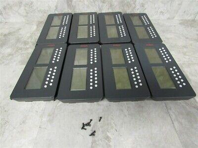 Lot Of 8 Avaya Sbm24 Button Modules For 9630 9630g 9640g 9650 9650c