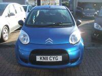 CITROEN C1 VT 998 CC (blue) 2011