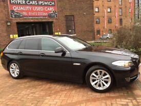 BMW 5 SERIES 520D SE TOURING (black) 2010