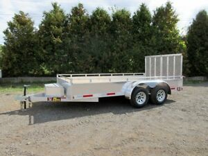 14' Aluminum Landscape Trailer - Canadian Made