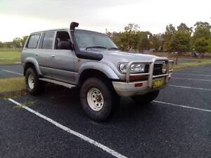 80 SERIES LANDCRUISER. 35'S, DUEL FUEL, 2 INCH LIFT, REGO 27/3/17 Raymond Terrace Port Stephens Area Preview