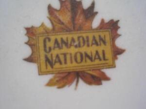 Royal Doulton Canadian National Plate & Fork
