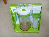 Contigo AUTOSEAL Pitcher Set with Infuser Stick and Ice Core
