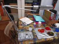 Adjustable Work Lamp - desk or table mount