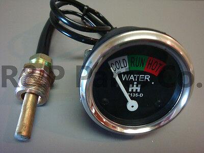 Water Temperature Gauge 67135d 4 Farmall Tractor A H M Super A Super M 300 350 U