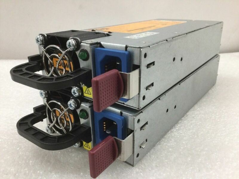 Lot of (2) - HP 750W Power Supply HSTNS-PL22B 591554-101 591556-201 599383-001