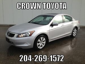 SAFETIED! AS IS/AS TRADED 2008 HONDA ACCORD EX-L 4CYL SEDAN 5 S
