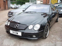 MERCEDES BENZ CL CL 500 (black) 2002