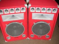 Sound lab speakers x2 very cheap
