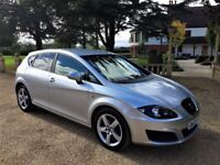 SEAT LEON 1.9 TDi Sport, MOT Sept 2018, Excellent service history, Beautiful all round (silver) 2009