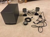 Bose 2.1 Speaker set in perfect condition