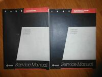 1985 Dodge Caravan Plymouth Voyager Ram Van OEM Shop Manual