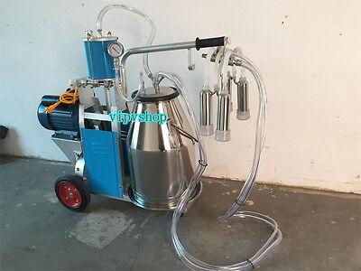Electric Milk Milking Machine Fit For Cows Piston Type Milking Machine 220v