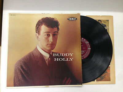 Buddy Holly Buddy Holly 1St Pressing Maroon Label Mono Vinyl 2 0 Cover 3 0