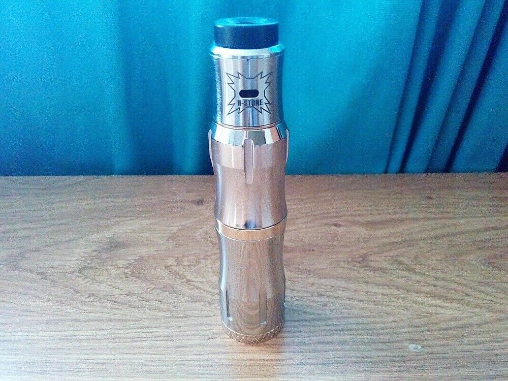 Vaperz Cloud 11:11 Sith Styled 18650 Mechanical Mech Vape Mod Kit + Sith  RDA Silver | in Barnet, London | Gumtree