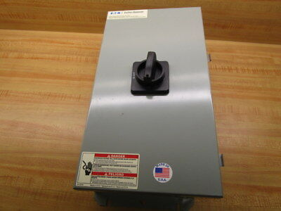 Cutler Hammer Dr3080ud Rotary Disconnect Switch