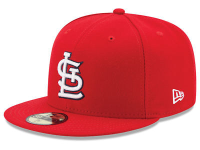New Era St. Louis Cardinals GAME 59Fifty Fitted Hat (Red) MLB Cap ()