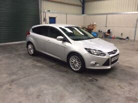 2014 Ford Focus zetec tdci 1 owner fsh 69,000 guaranteed cheapest in country