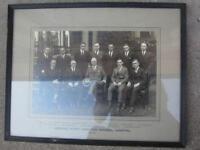Vintage Photo Hamilton General Hospital 1923-23 Medical Staff